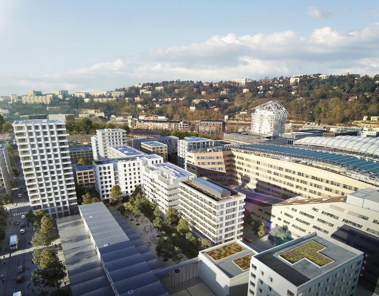 Albizzia : 1ère construction Bois & Bas Carbone de Lyon