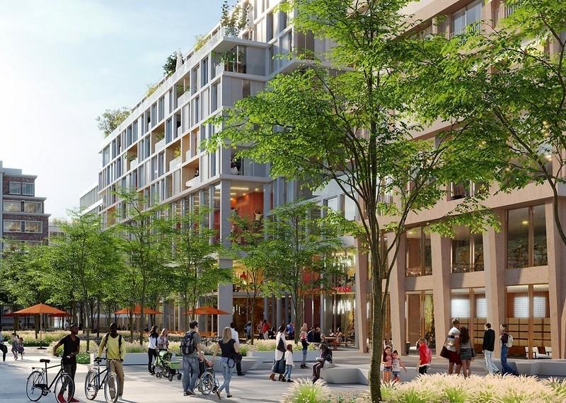 Paris 18 : Restructuration du centre bus Belliard