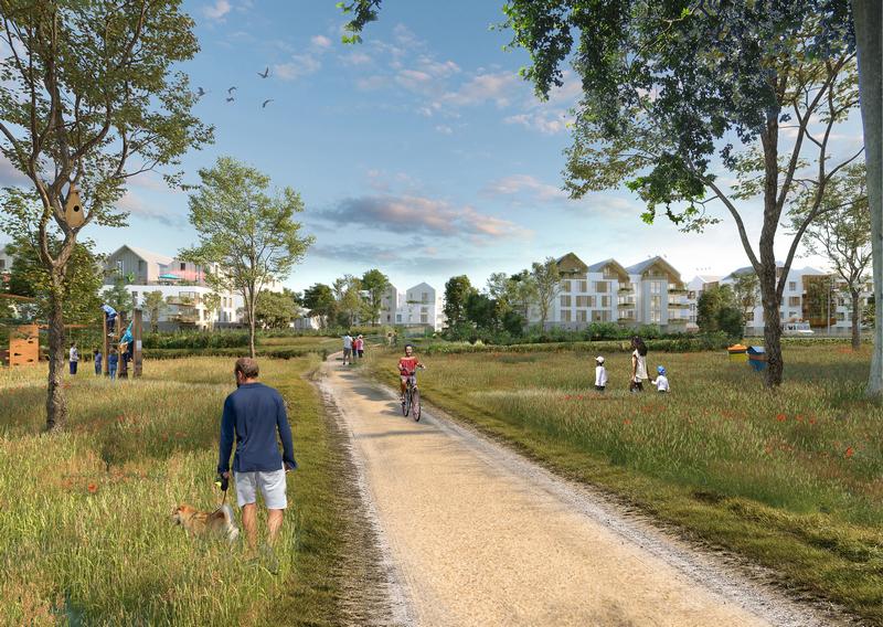 Voisins-le-Bretonneux : nouvel écoquartier de la Remise